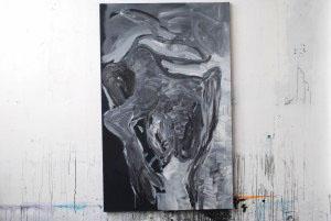 acrylique sur toile 85x130