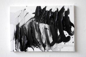 acrylique sur toile 33x24