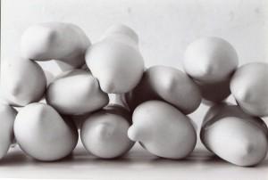 sculpture plâtre, 12 pièces