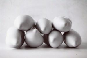 sculpture plâtre, 7 pièces