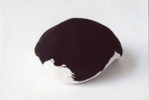 sculpture plâtre peint 7cm