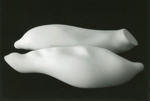 sculpture plâtre 25cm